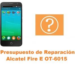 Presupuesto de reparación Alcatel OT-6015 Fire E