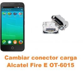 Cambiar conector carga Alcatel OT-6015 Fire E