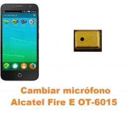 Cambiar micrófono Alcatel OT-6015 Fire E