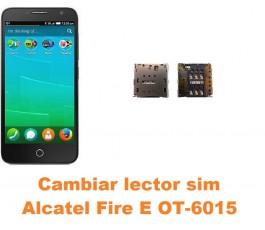Cambiar lector sim Alcatel OT-6015 Fire E