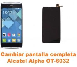 Cambiar pantalla completa Alcatel OT-6032 Alpha