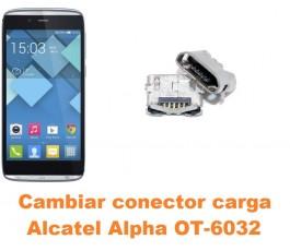 Cambiar conector carga Alcatel OT-6032 Alpha