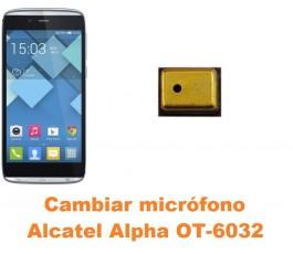 Cambiar micrófono Alcatel OT-6032 Alpha