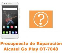 Presupuesto de reparación Alcatel OT-7048 Go Play
