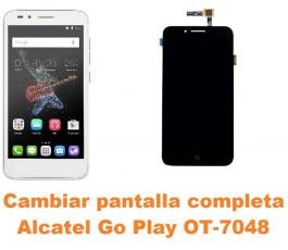 Cambiar pantalla completa Alcatel OT-7048 Go Play