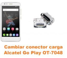 Cambiar conector carga Alcatel OT-7048 Go Play