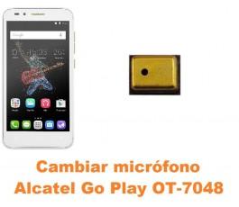 Cambiar micrófono Alcatel OT-7048 Go Play