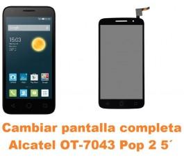 Cambiar pantalla completa Alcatel OT-7043 Pop 2 5´