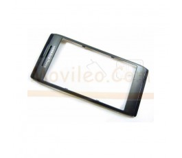 Marco frontal negro original para Sony Ericsson Aino u10i - Imagen 1