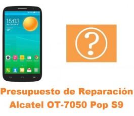 Presupuesto de reparación Alcatel OT-7050 Pop S9