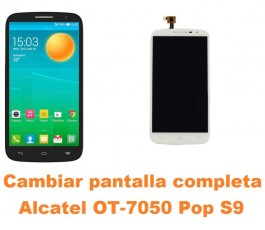Cambiar pantalla completa Alcatel OT-7050 Pop S9