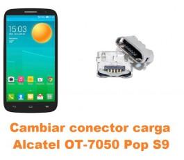 Cambiar conector carga Alcatel OT-7050 Pop S9
