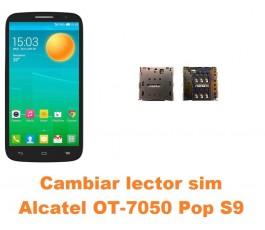 Cambiar lector sim Alcatel OT-7050 Pop S9