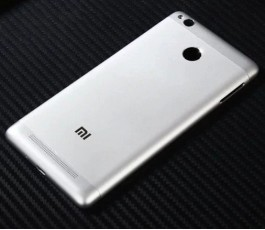 Tapa trasera para Xiaomi Redmi 3S plata