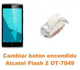 Cambiar botón encendido Alcatel OT-7049 Flash 2