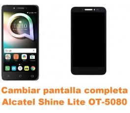 Cambiar pantalla completa Alcatel OT-5080 Shine Lite