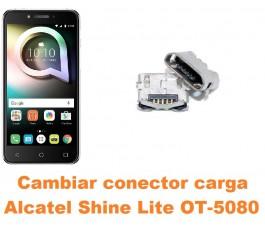 Cambiar conector carga Alcatel OT-5080 Shine Lite