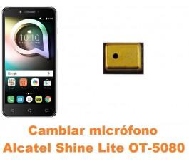 Cambiar micrófono Alcatel OT-5080 Shine Lite
