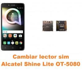 Cambiar lector sim Alcatel OT-5080 Shine Lite