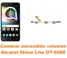 Cambiar encendido y volumen Alcatel OT-5080 Shine Lite
