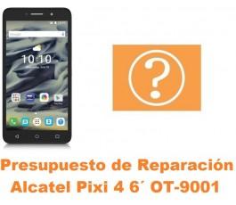 Presupuesto de reparación Alcatel OT-9001 Pixi 4 6´