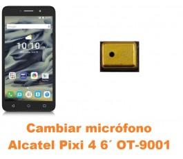 Cambiar micrófono Alcatel OT-9001 Pixi 4 6´