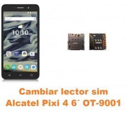 Cambiar lector sim Alcatel OT-9001 Pixi 4 6´