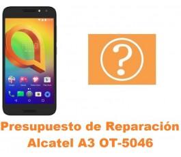 Presupuesto de reparación Alcatel OT-5046 A3