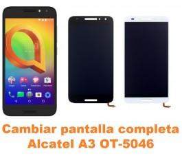 Cambiar pantalla completa Alcatel OT-5046 A3