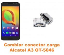 Cambiar conector carga Alcatel OT-5046 A3