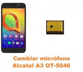 Cambiar micrófono Alcatel OT-5046 A3
