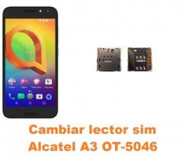 Cambiar lector sim Alcatel OT-5046 A3
