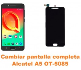 Cambiar pantalla completa Alcatel OT-5085 A5 A5 LED