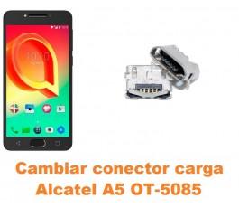 Cambiar conector carga Alcatel OT-5085 A5 A5 LED