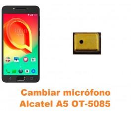 Cambiar micrófono Alcatel OT-5085 A5 A5 LED