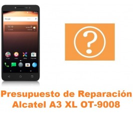 Presupuesto de reparación Alcatel OT-9008 A3 XL