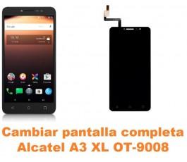 Cambiar pantalla completa Alcatel OT-9008 A3 XL