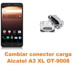 Cambiar conector carga Alcatel OT-9008 A3 XL