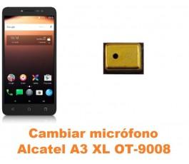 Cambiar micrófono Alcatel OT-9008 A3 XL