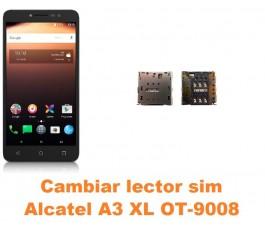 Cambiar lector sim Alcatel OT-9008 A3 XL