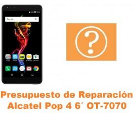 Presupuesto de reparación Alcatel OT-7070 Pop 4 6´