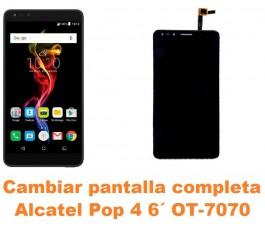 Cambiar pantalla completa Alcatel OT-7070 Pop 4 6´
