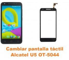 Cambiar pantalla táctil cristal Alcatel OT-5044 U5
