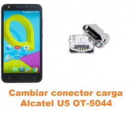Cambiar conector carga Alcatel OT-5044 U5