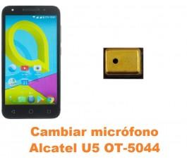 Cambiar micrófono Alcatel OT-5044 U5