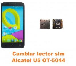 Cambiar lector sim Alcatel OT-5044 U5