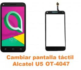 Cambiar pantalla táctil cristal Alcatel OT-4047 U5