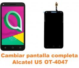 Cambiar pantalla completa Alcatel OT-4047 U5