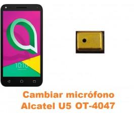 Cambiar micrófono Alcatel OT-4047 U5