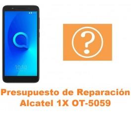 Presupuesto de reparación Alcatel OT-5059 1X